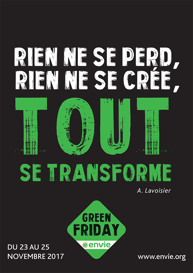 Du black friday au green friday : Greenpeace, association de défense de l'environnement