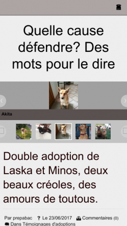 Version mobile laska et minos