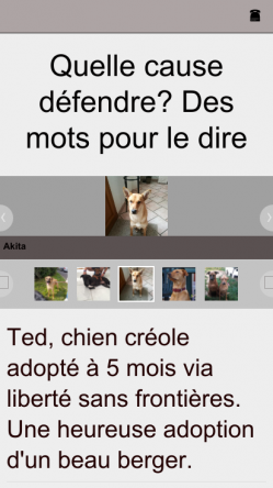 Version mobile ted